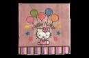 "Салфетки детские праздничные ""Hello Kitty"" (20шт.)"